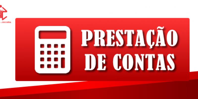 <center>Prestação de Contas: Março de 2021