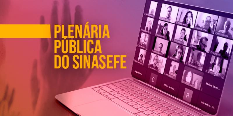 <center>Plenária Pública: 17/09, às 18 horas
