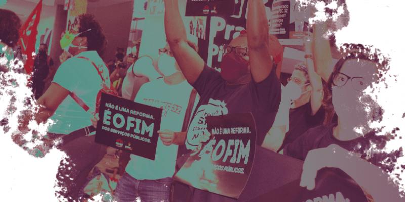 <center>11 a 15 de outubro: Mobilizações nas bases contra a PEC 32/2020